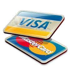 visa mastercard available for handyman services